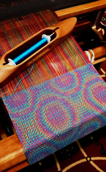 Weaving by Linda Hartshorn