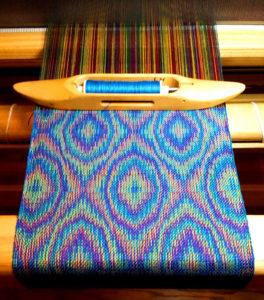 Weaving by Linda Hartshorn