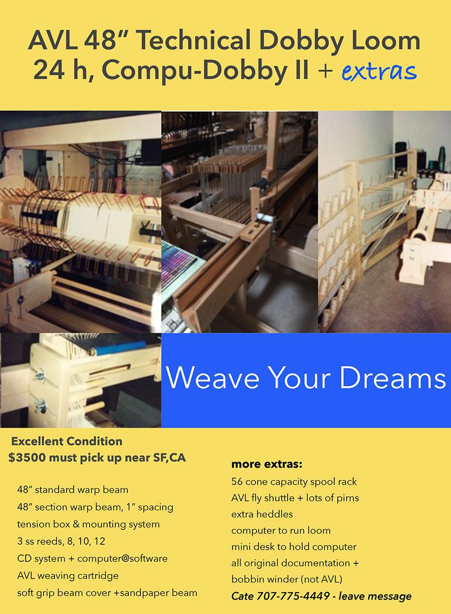AVL loom for sale